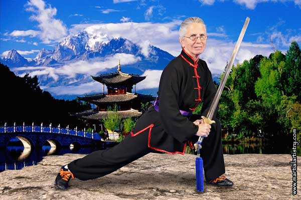Dorothy Stender Albuquerque kung fu karate straight sword