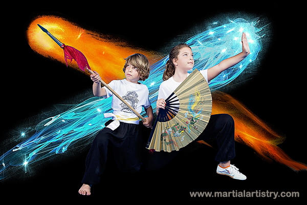 Pino Hurleigh Lucy kung fu spear fan karate kids