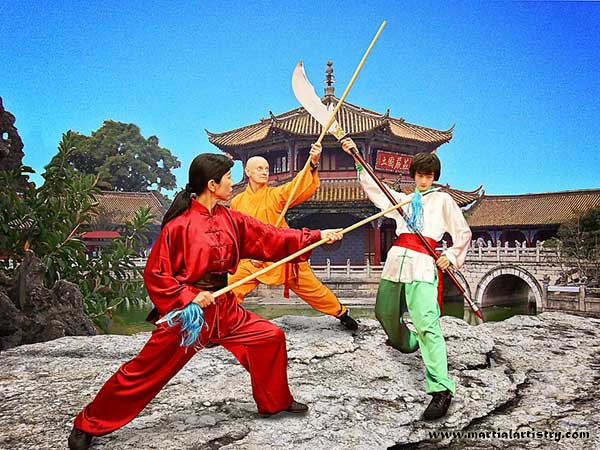 Shaolin temple kung fu weapon battle Albuquerque karate