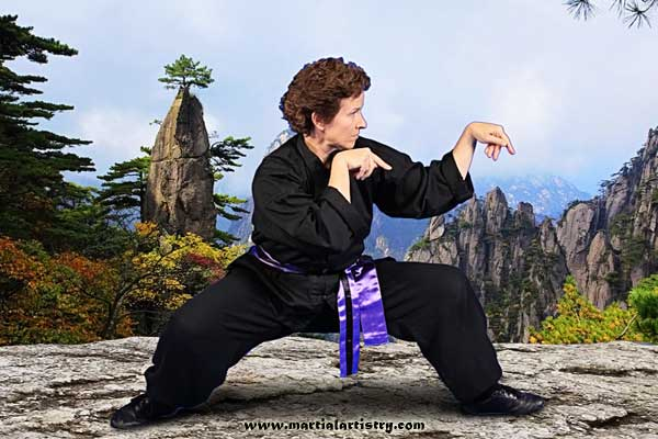 Sherry Riddle praying mantis Albuquerque karate kung fu martial arts classes for adults