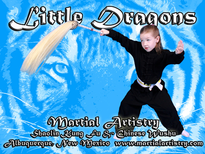 New Little Dragons martial arts program at Albuquerque Martial Artistry Shaolin Kung Fu & Chinese Wushu