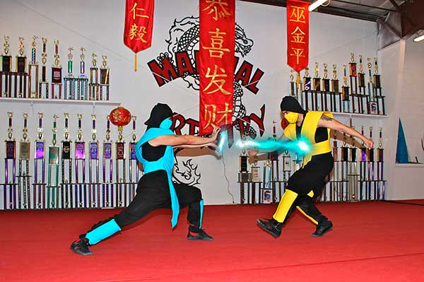 Albuquerque karate martial arts cosplay Mortal Kombat Sub Zero Scorpion
