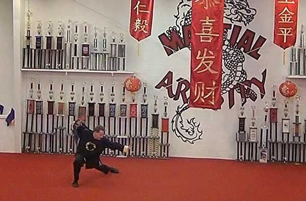 Ed McGinnis Chinese kung fu broadsword martial arts karate Albuquerque