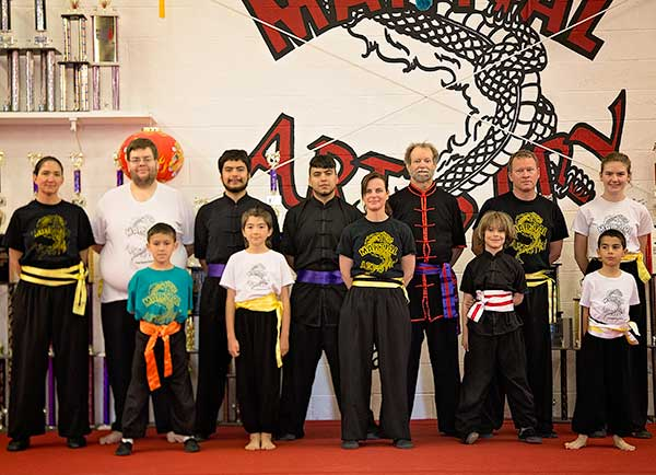 kung fu karate Albuquerque 2016 January new ranks