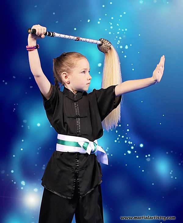 Kaede Carroll Albuquerque martial arts children