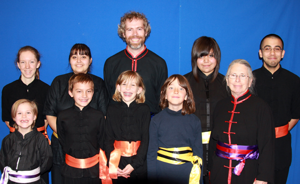 Albuquerque martial arts adults and kids sash presentation 2012-11-24