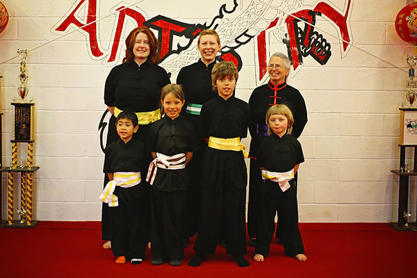 Albuquerque martial arts students earn new ranks.