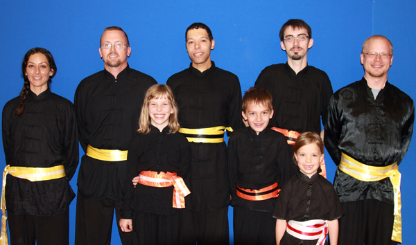 Albuquerque martial arts beginners kung fu sash presentations at Martial Artistry Shaoling Kung Fu and Chinese Wushu