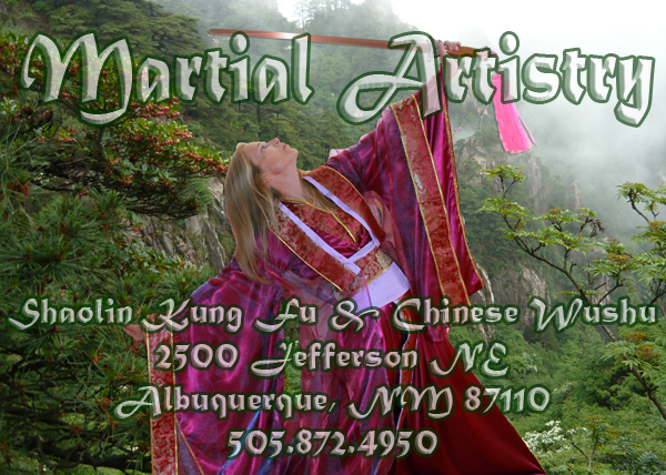 martial artistry address